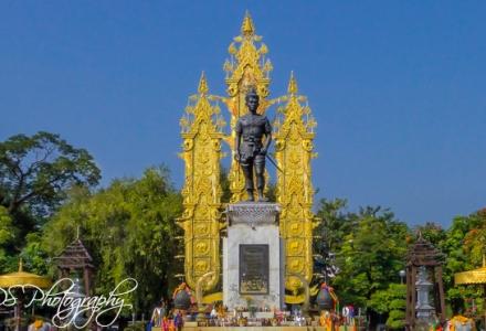 King Mengrai Statue
