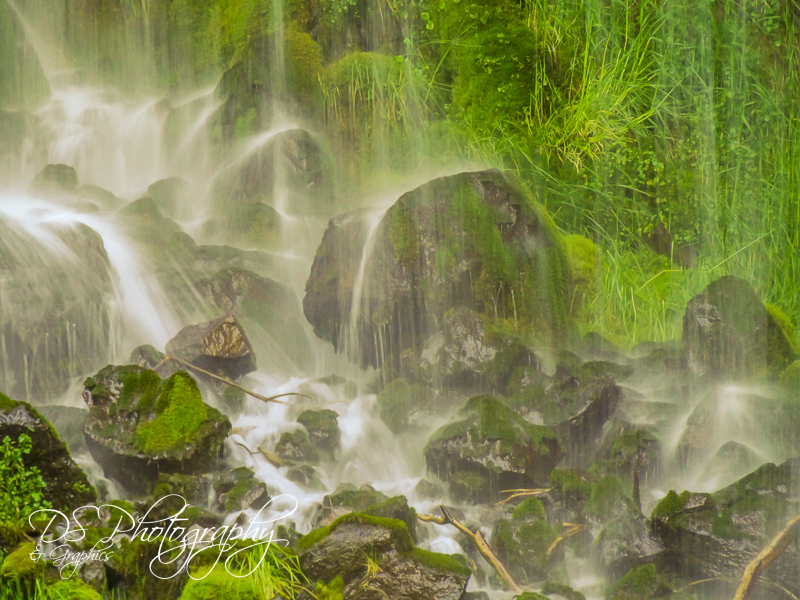 Mossbrae Falls - Partial II