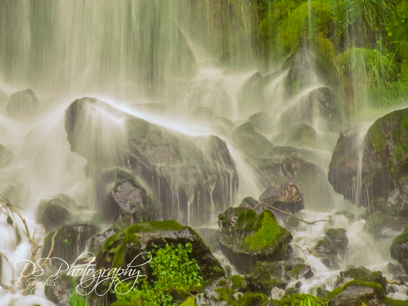 Mossbrae Falls - Partial