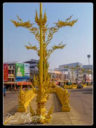 Ornate poles