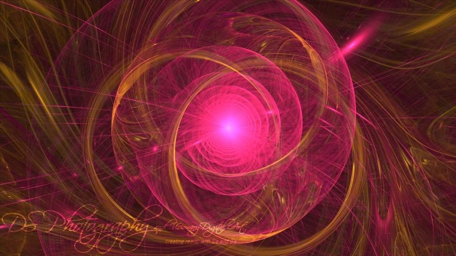 Pink and Gold Mandala